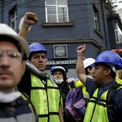 La reacción de los mexicanos al terremoto