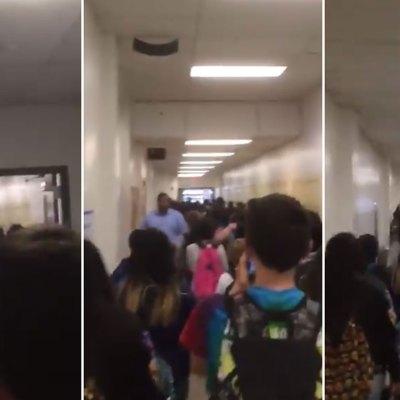 #Unidos: Estudiantes de Texas protestan contra maestra que atacó a su compañero mexicano