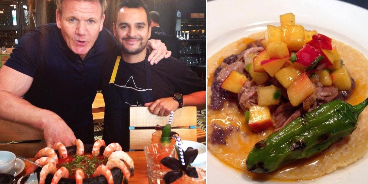 #LaEsquina: El chef mexicano que tiene maravillados a los famosos en NYC con sus garnachas