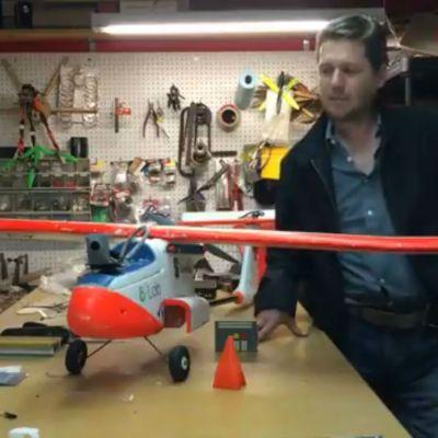 #Genio: Mexicano creó un dron ambulancia para salvar vidas a distancia