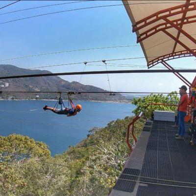 Zip-line, tirolesa en Acapulco