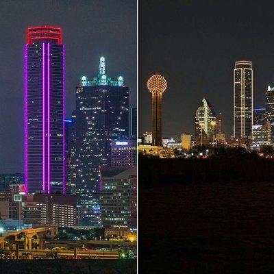 #Bravo: Dallas se ilumina y saca la cara por los inmigrantes