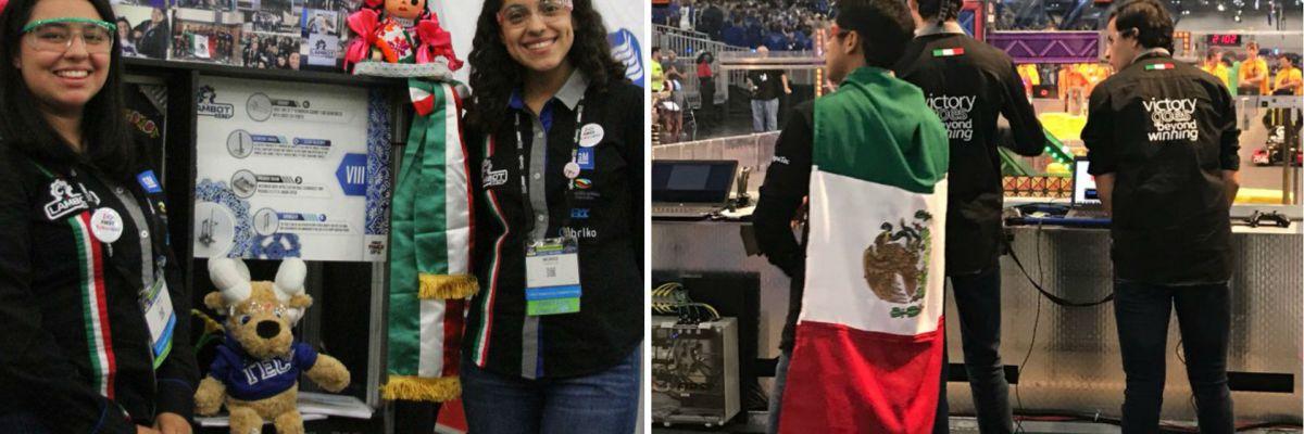 #Brillantes: Estudiantes mexicanos hacen historia en Mundial de Robótica