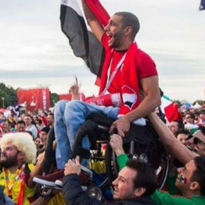 Un mexicano hizo la foto del Mundial