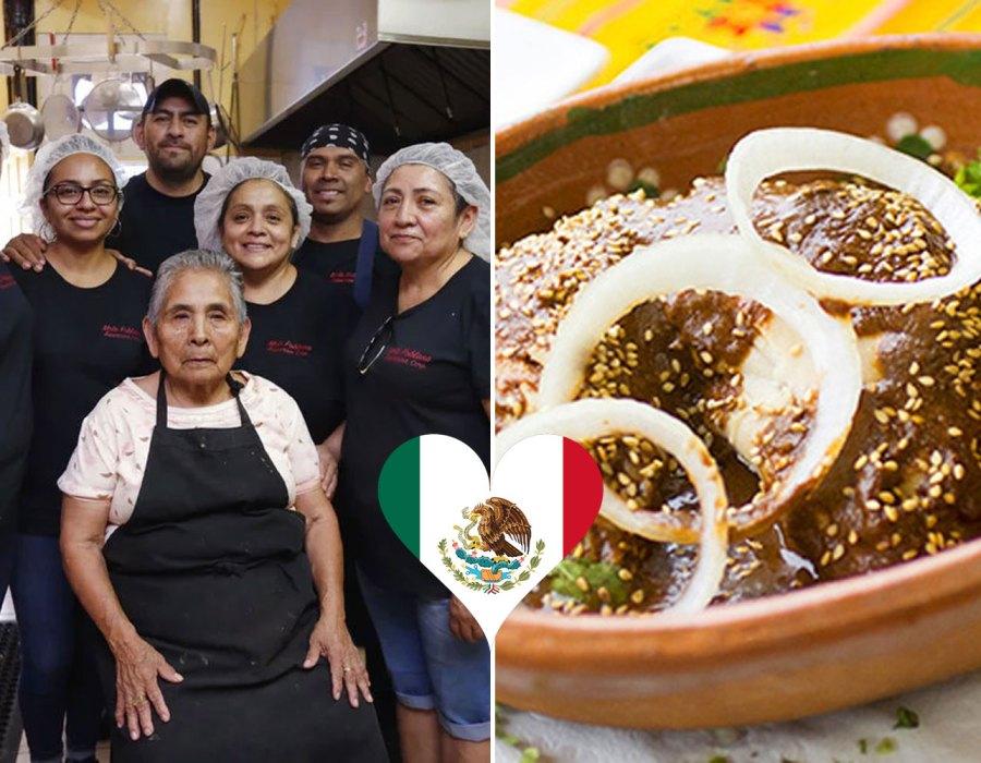 #Delicia: Cómo una familia mexicana conquistó a EE. UU. con mole poblano