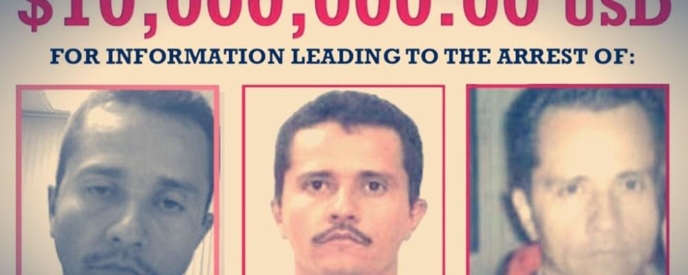 Estados Unidos pone a mexicano como el más buscado del mundo