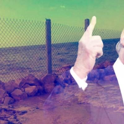 """´Gringos´ construyen su propio """"muro""""… ¡Pero en playa mexicana!"""