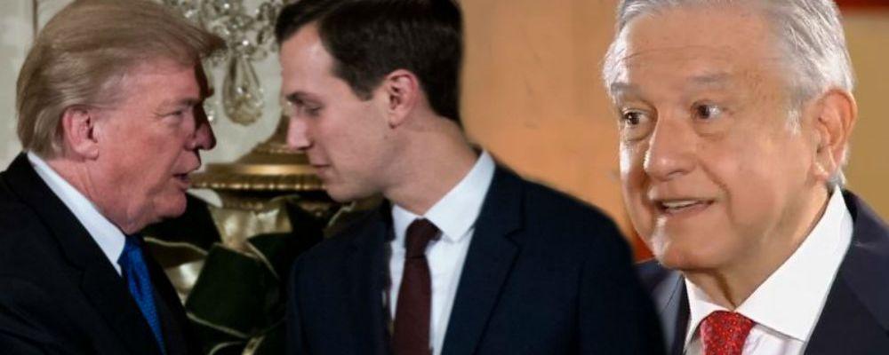 El yerno de Trump visitó México de manera inesperada; esto le dijo a AMLO