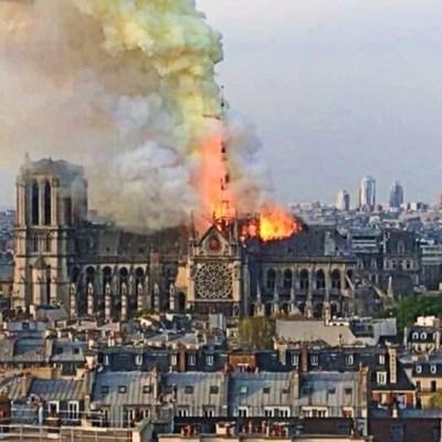 Informan posible causa de incendio de catedral de Notre Dame