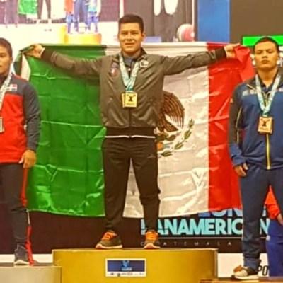 Mexicano logra oro en Campeonato Panamericano de Levantamiento de Pesas