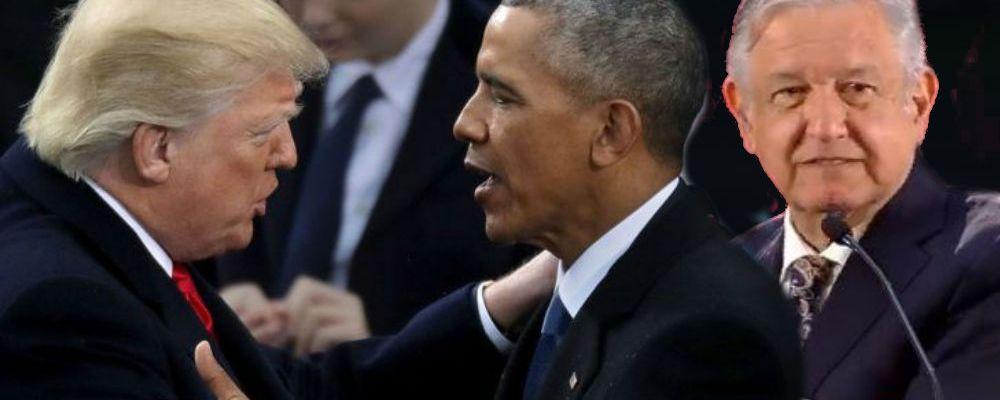 Así reaccionó AMLO al enterarse que Obama le dijo miedoso a Trump