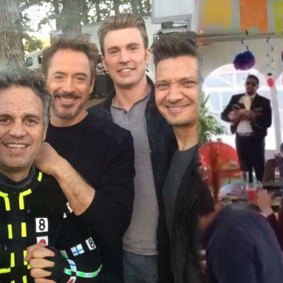 Avengers festejan éxito de la cinta con música y comida mexicana