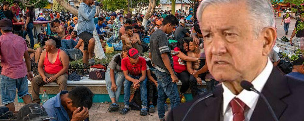 AMLO critica a los mexicanos que arremeten contra los migrantes