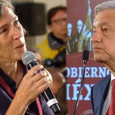 Reportera de medio británico confronta a AMLO en su conferencia de prensa