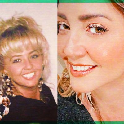 Así ha sido el cambio de Andrea Legarreta en sus 30 años de carrera