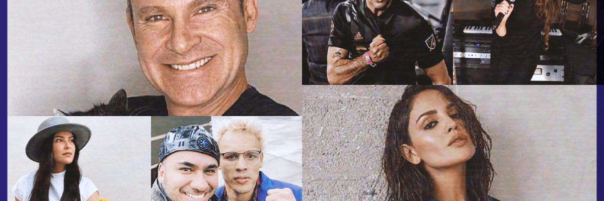 Los famosos mexicanos que podrían estar expuestos al Covid-19 en EUA