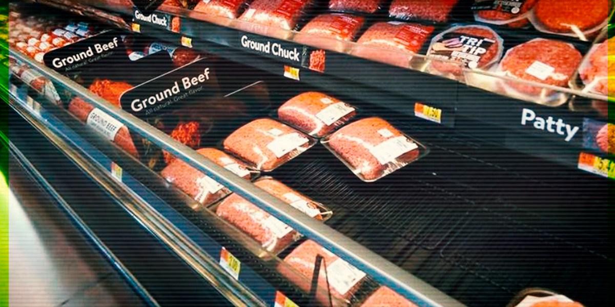 Walmart retira más de 19 mil kilos de carne molida con sospechas de E. Coli