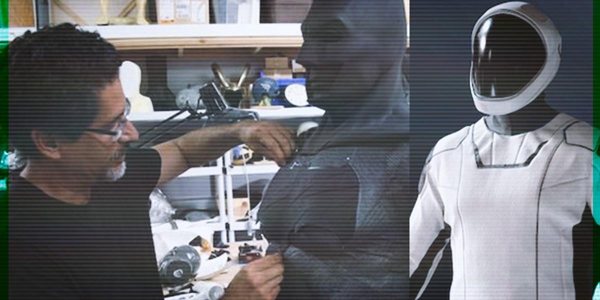 José Fernández, el mexicano que hace historia por diseño de traje para SpaceX