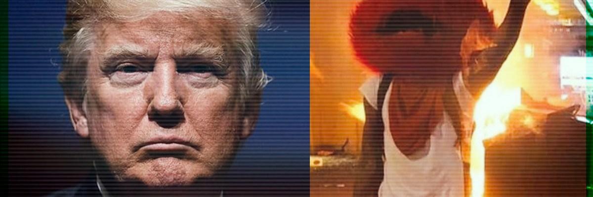 Trump lanza amenazas a gobernadores por caos de marchas en EUA