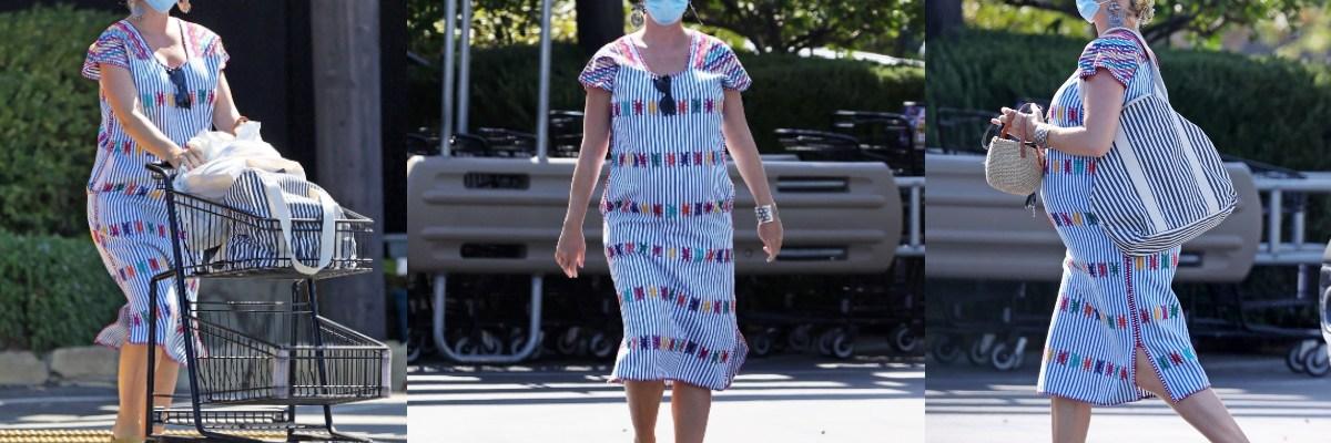 Katy Perry viste con huipil elaborado por artesanas oaxaqueñas.