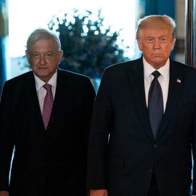 Promueven reelección de Trump con imagen de AMLO