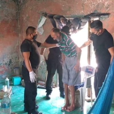 Abandonan en condiciones inhumanas a abuelito en Yucatán