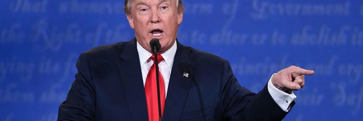 Trump no asistirá a segundo debate presidencial