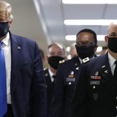 Donald Trump es trasladado al hospital militar Walter Reed por Covid-19