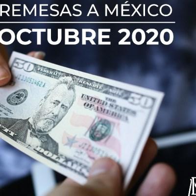 Remesas enviadas a México aumentan a pesar de la pandemia