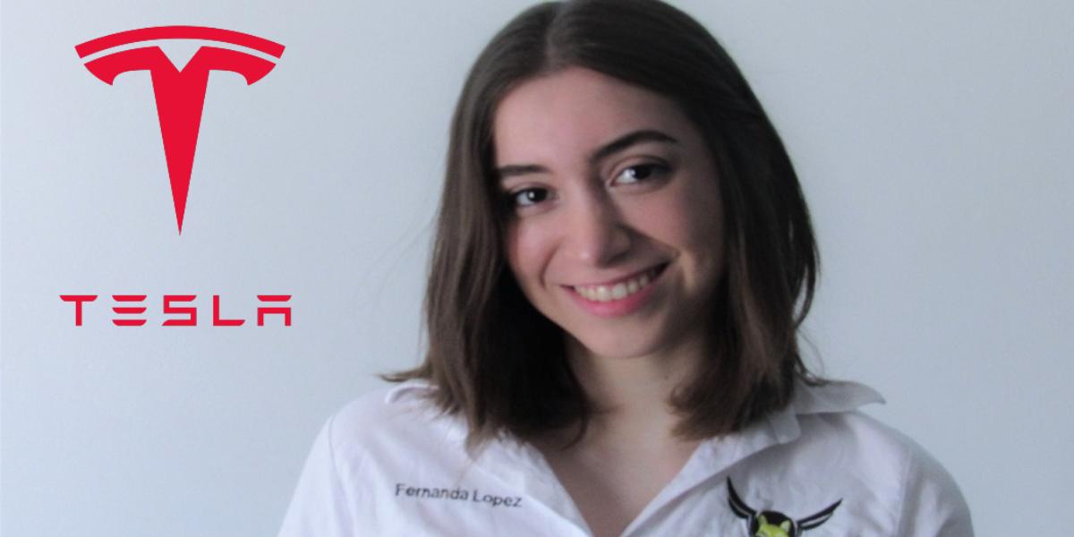 Tesla apuesta por el talento de esta joven estudiante mexicana