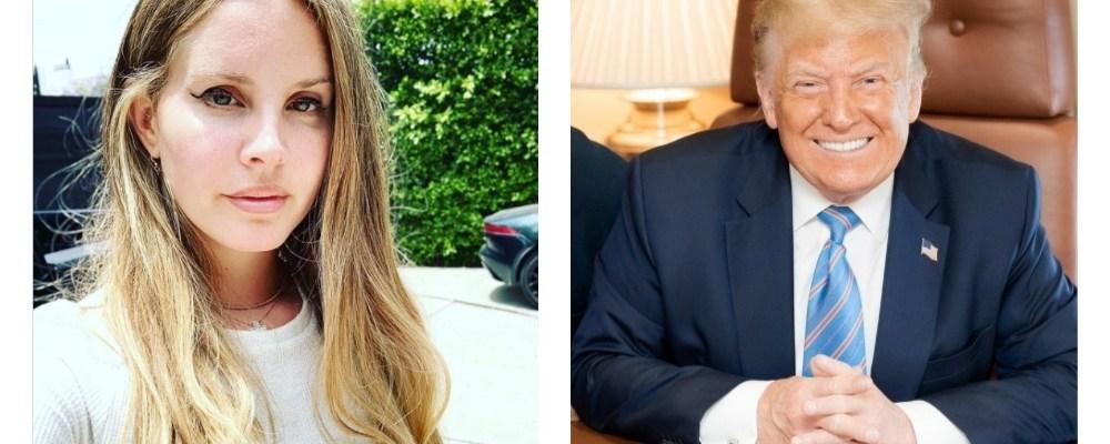 Lana del Rey defiende a Trump de acusaciones por el asalto al Capitolio