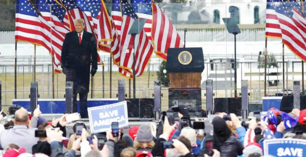 Piden destituir a Trump por los disturbios en Washington