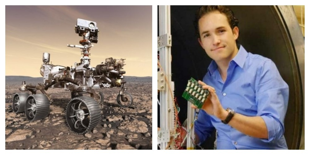 Fernando, el mexicano que participó en la misión de la NASA en Marte