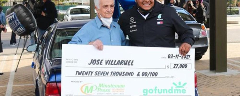 Exalumno recauda 500 mil pesos para maestro mexicano migrante