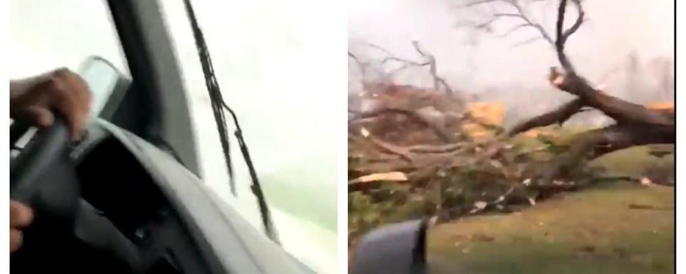 Hispano capta el momento en que un tornado toca tierra en Alabama
