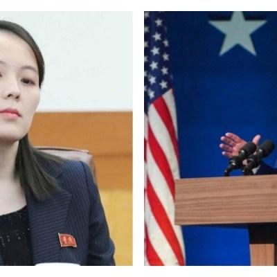 Corea del Norte lanza su primera advertencia al gobierno de Biden