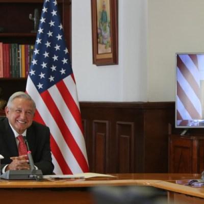 Biden y AMLO acuerdan cooperación en temas de migración y COVID-19