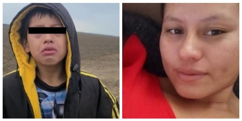Niño perdido en la frontera iba con su mamá; ella sigue desaparecida