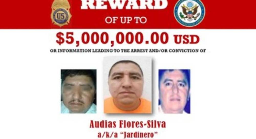 Estados Unidos ofrece 5 mdd por 'El Jardinero', líder del CJNG