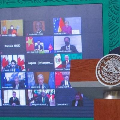 AMLO pide a Biden financiar programa Sembrando Vida en Centroamérica