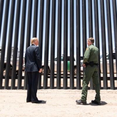 El Pentágono cancela los contratos para construir el muro de Trump