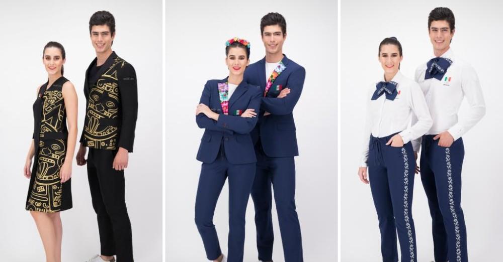 Abren votación para elegir trajes que usarán mexicanos en Tokio 2021