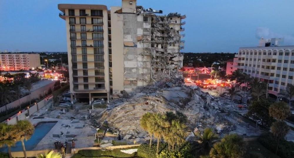 Hay 30 latinos desaparecidos por el desplome del edificio en Miami