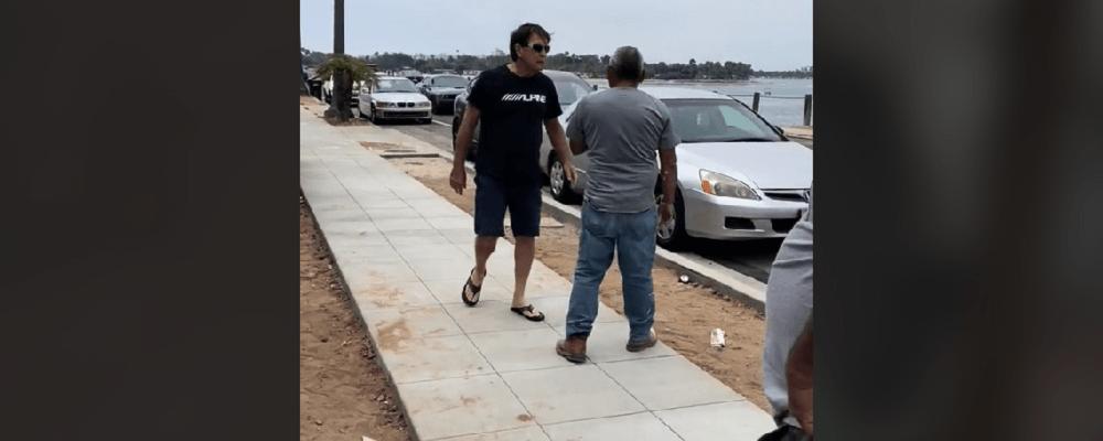 Hombre amenaza a obreros latinos con llamar a 'La Migra' por hacer ruido