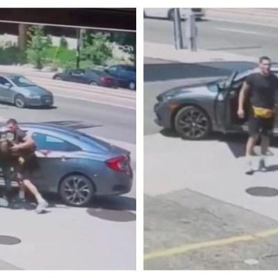 Ladrón intenta robar el auto de un luchador de la UFC y termina golpeado