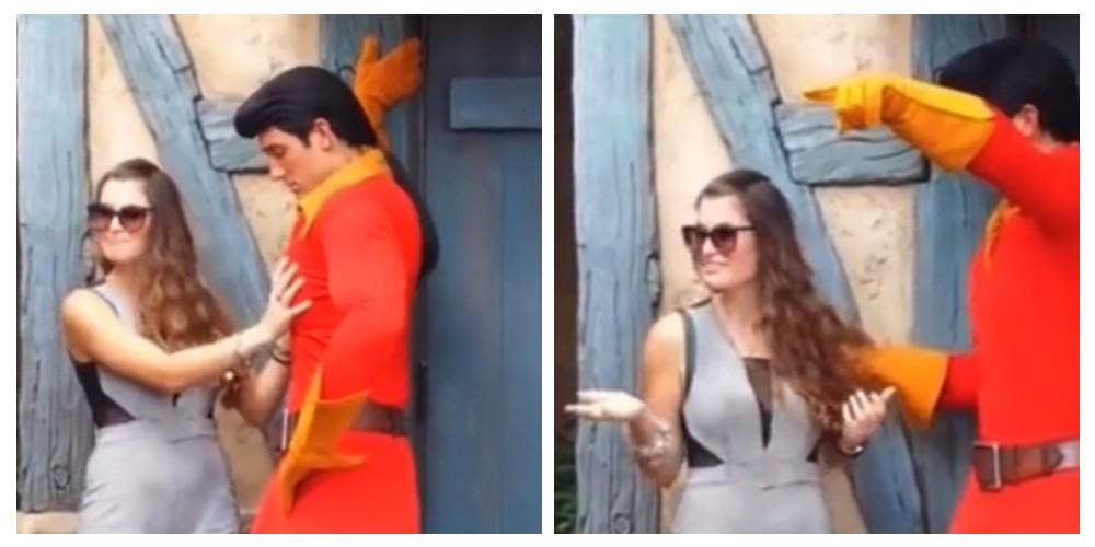 Corren a mujer de atracción de Disney por manosear a un empleado