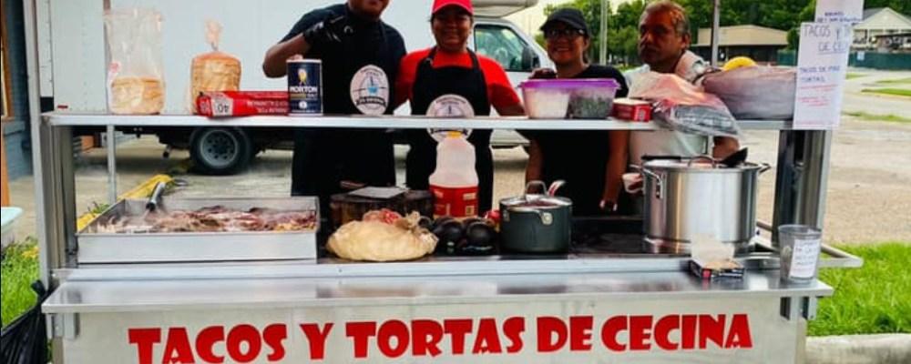 Erick, el mexicano que triunfa en Texas con sus tacos de cecina