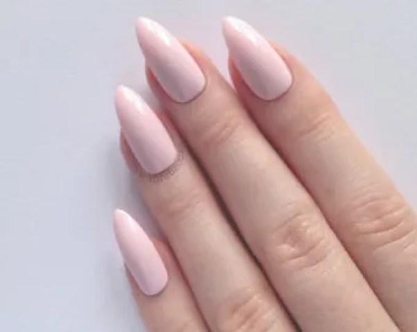 decoracion-de-uñas-acrilicas-uñas-color-rosa