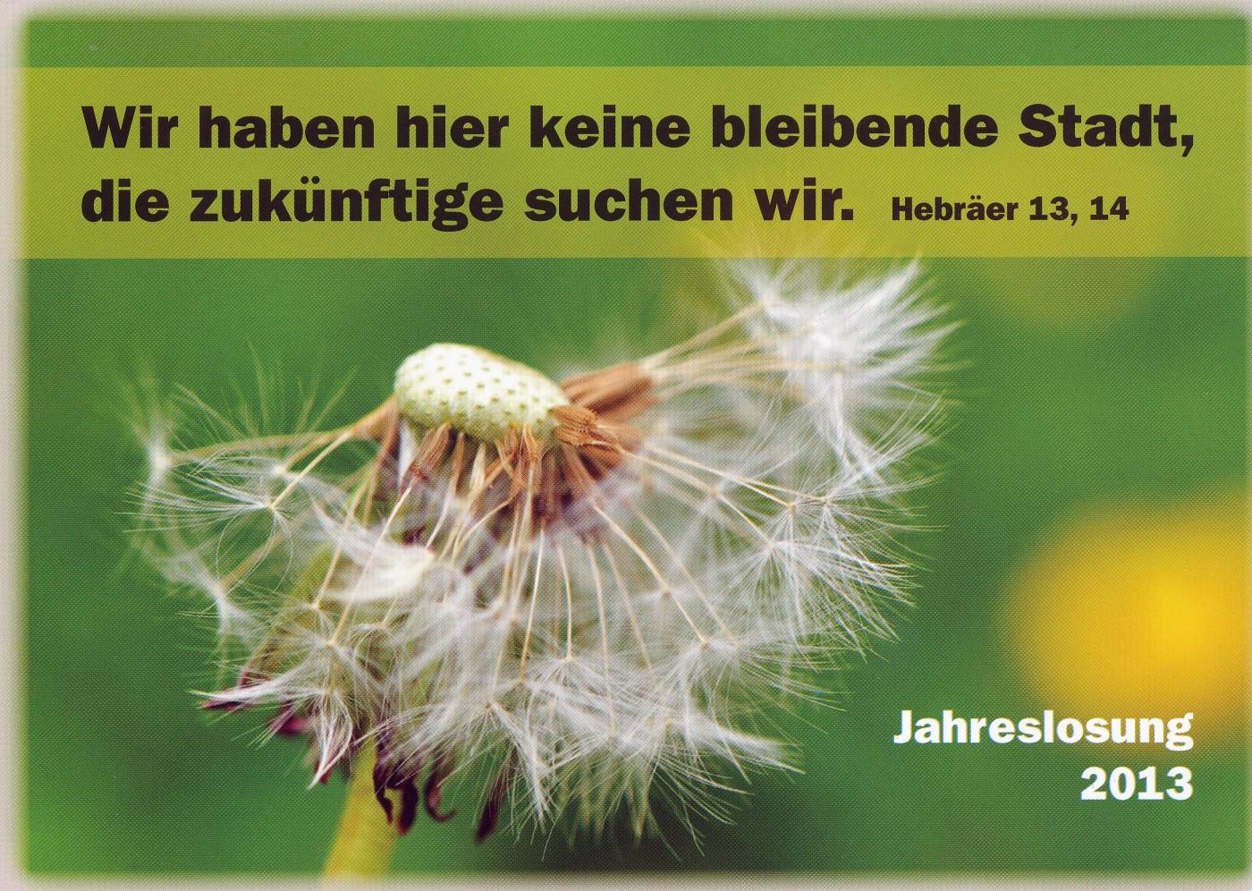 Hebräer 13,14