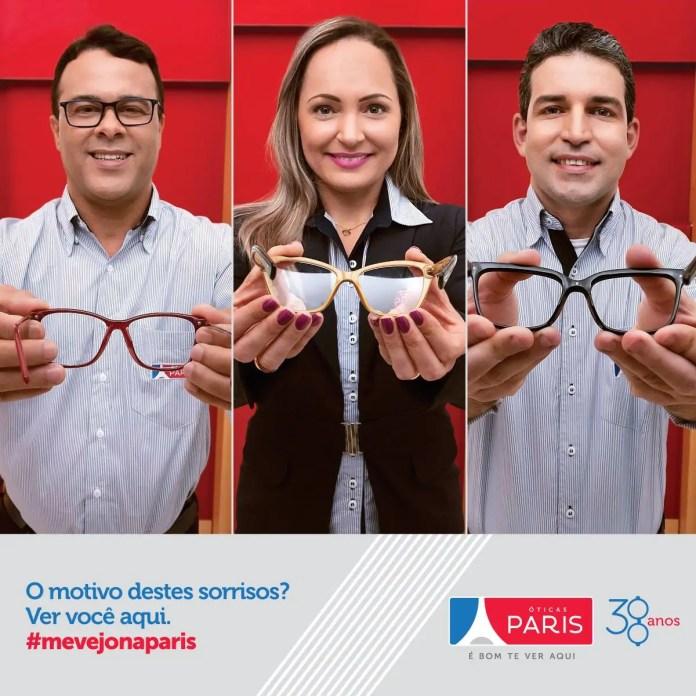Óticas Paris lançam campanha de 38 anos - MP Publicidade